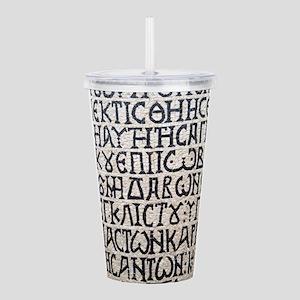 It's Greek to Me! Acrylic Double-wall Tumbler