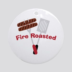 Cookout_Fire Roasted Ornament (Round)