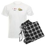 I Love Pie Men's Light Pajamas