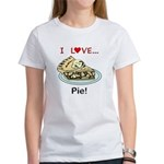 I Love Pie Women's T-Shirt