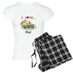 I Love Pie Women's Light Pajamas