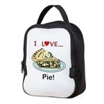 I Love Pie Neoprene Lunch Bag