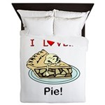 I Love Pie Queen Duvet