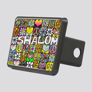 Psychedelic Shalom Hitch Cover