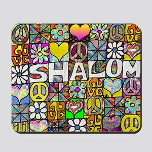 Psychedelic Shalom Mousepad