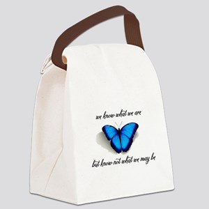 What We May Be Canvas Lunch Bag