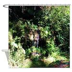 Island Forest Shower Curtain