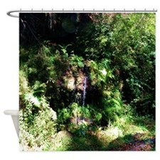 Island Forest Shower Curtain