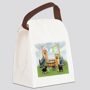Laundry Day ByCatiaCho Canvas Lunch Bag