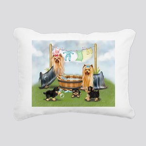 Laundry Day ByCatiaCho Rectangular Canvas Pillow