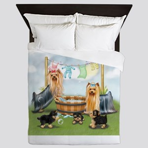 Laundry Day ByCatiaCho Queen Duvet