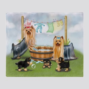 Laundry Day ByCatiaCho Throw Blanket