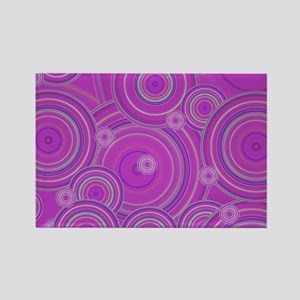 pink circles by designeffects Magnets
