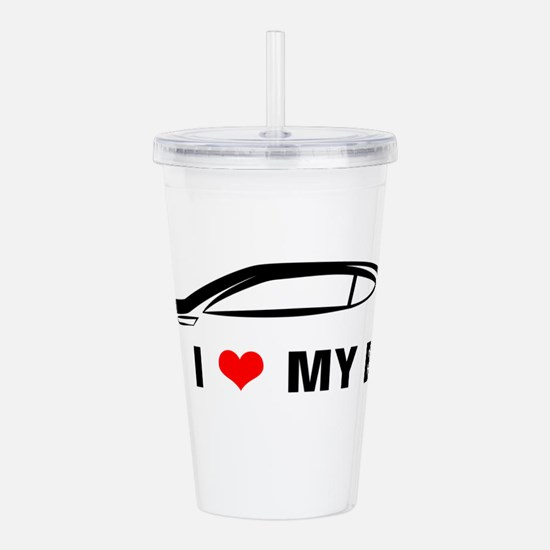 I Love My BRZ Acrylic Double-wall Tumbler
