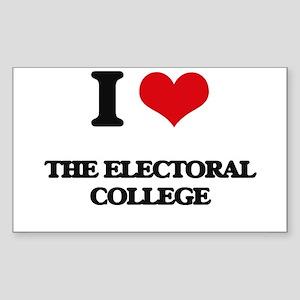 I love The Electoral College Sticker