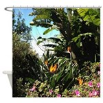 Tropical Gardens On Maui Shower Curtain