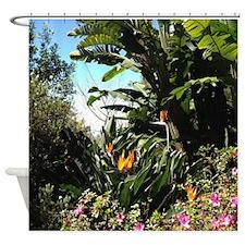 Tropical Gardens On Maui Shower Curtain