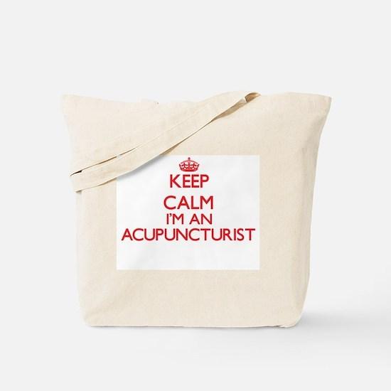 Keep calm I'm an Acupuncturist Tote Bag
