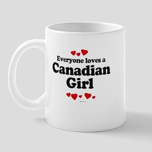 Everyone loves a Canadian boy Mug