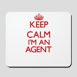 Keep calm I'm an Agent Mousepad