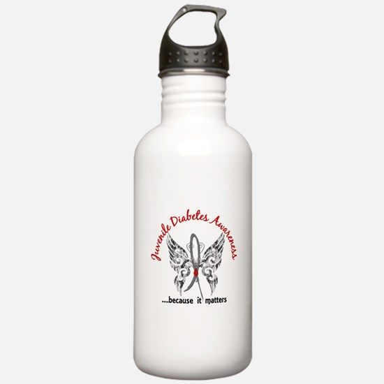 Juvenile Diabetes Butt Water Bottle