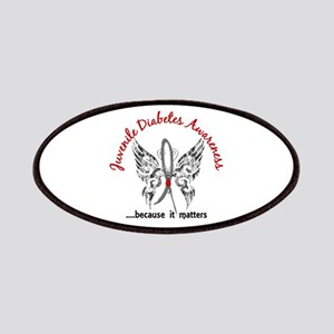 Juvenile Diabetes Butterfly 6.1 Patches
