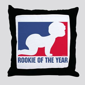 Rookie of the Year Throw Pillow