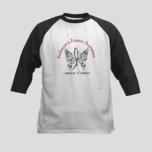 Parkinson's Butterfly 6.1 Kids Baseball Jersey
