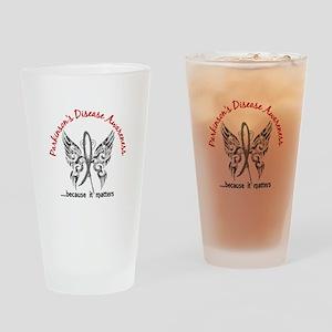 Parkinson's Butterfly 6.1 Drinking Glass