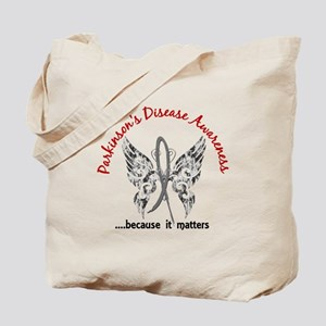 Parkinson's Butterfly 6.1 Tote Bag