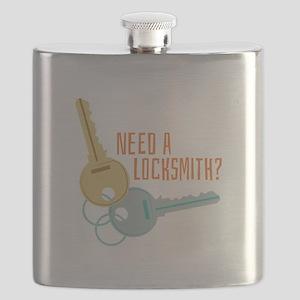 Need A Locksmith? Flask