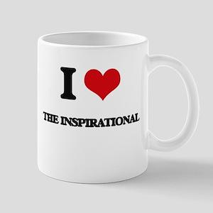 I Love The Inspirational Mugs