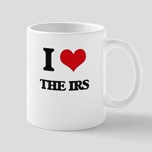 I Love The Irs Mugs