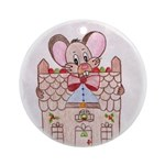 Chompers Gingerbread Mouse Ornament