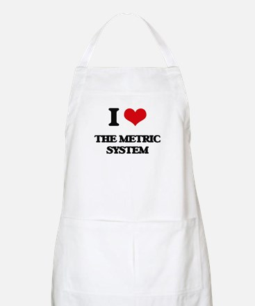 I Love The Metric System Apron