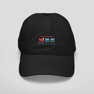 Train Talk Black Cap