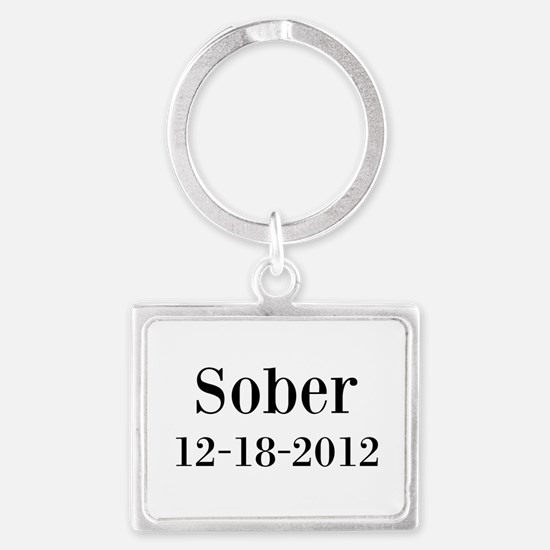 Personalizable Sober Keychains