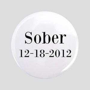 "Personalizable Sober 3.5"" Button"