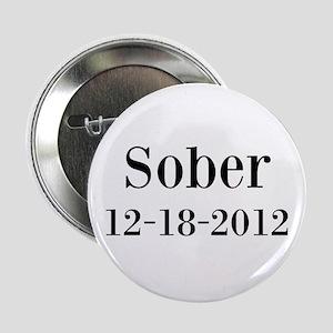 "Personalizable Sober 2.25"" Button"