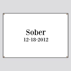 Personalizable Sober Banner