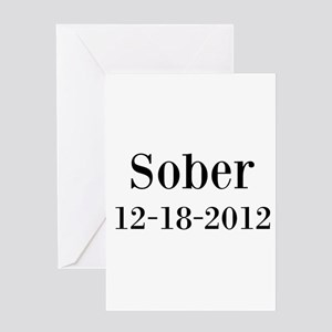 Sobriety greeting cards cafepress personalizable sober greeting cards bookmarktalkfo Choice Image