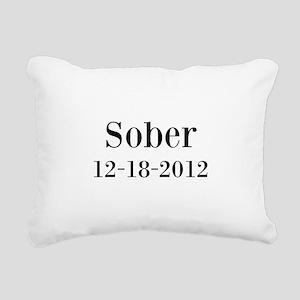 Personalizable Sober Rectangular Canvas Pillow