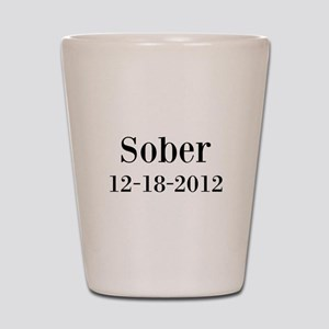 Personalizable Sober Shot Glass