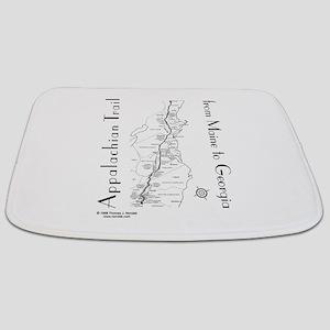 Appalachian Trail Map Bathmat