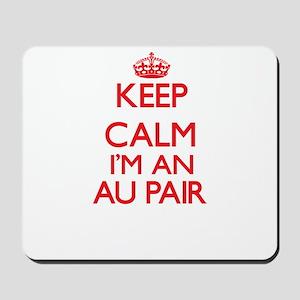 Keep calm I'm an Au Pair Mousepad