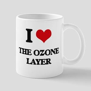 I Love The Ozone Layer Mugs