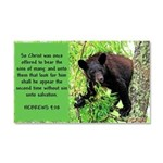 Yearling Black Bear_hebrews Car Magnet 20 X 12