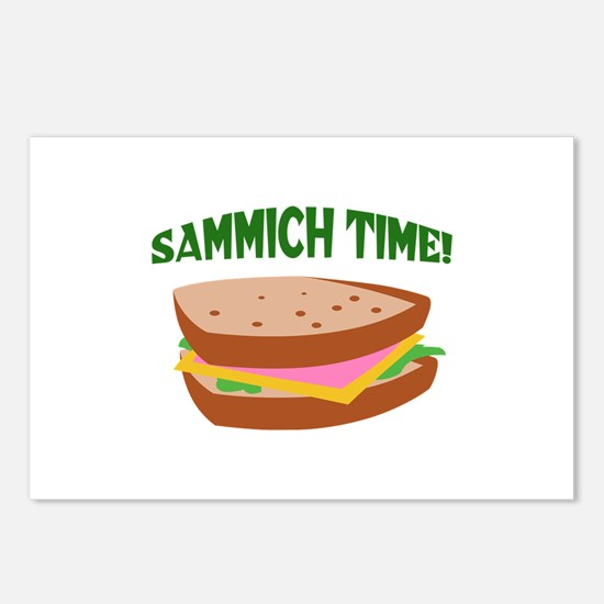 SAMMICH TIME Postcards (Package of 8)
