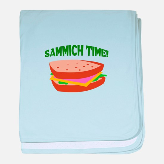 SAMMICH TIME baby blanket