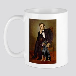 Lincoln's Doberman Mug